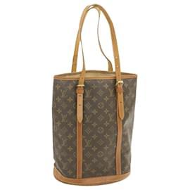 Louis Vuitton-LOUIS VUITTON Monogram Bucket GM Shoulder Bag M42236 auth 18507 **Powder-Other