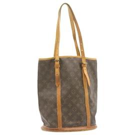 Louis Vuitton-LOUIS VUITTON Monogram Bucket GM Shoulder Bag M42236 LV Auth 22906-Other