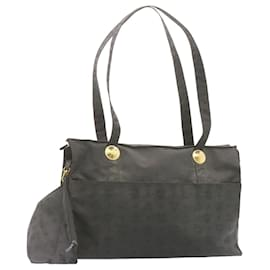 MCM-MCM Nylon Shoulder Bag Black Auth ar4291-Black