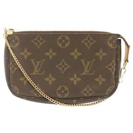 Louis Vuitton-LOUIS VUITTON Monogram Bucket Accessoires Pouch Auth 23362-Other