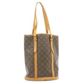Louis Vuitton-LOUIS VUITTON Monogram Bucket GM Vintage Shoulder Bag M42236 auth 23369-Other