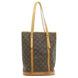 Louis Vuitton-LOUIS VUITTON Monogram Bucket GM Shoulder Bag M42236 Auth hk097-Other