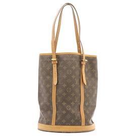 Louis Vuitton-LOUIS VUITTON Monogram Bucket GM Shoulder Bag M42236 LV Auth q012-Other