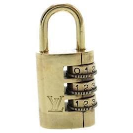 Louis Vuitton-Cadenas à cadran LOUIS VUITTON [000] Ouvrir l'authentification LV 13673-Doré
