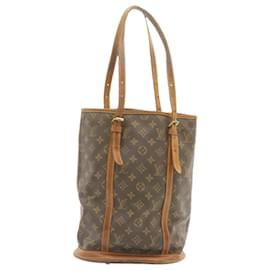 Louis Vuitton-LOUIS VUITTON Monogram Bucket GM Shoulder Bag Pouch M42236 LV Auth kh758-Other