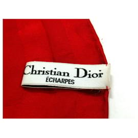 Dior-Foulard Dior-Rouge