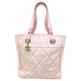 Chanel-Chanel Pink Paris Biarritz PM-Pink