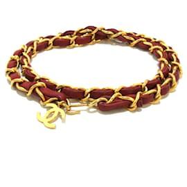Chanel-Chanel belt-Golden