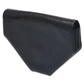 Hermès-Portefeuille Hermes-Noir