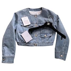 Chanel-New 2020 Jacket-Blue