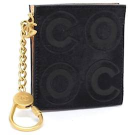 Chanel-Coco Calfhair Coin Pouch Keychain-Other