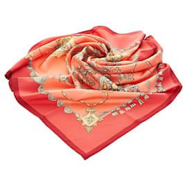Hermès-Hermes Multi Parures Des Sables Silk Scarf-Multiple colors