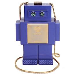 MCM-MCM Purple Roboter Series Crossbody Bag-Purple