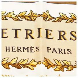 Hermès-Hermes Multi Etriers Silk Scarf-Multiple colors