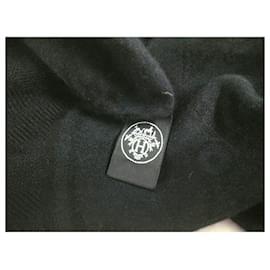 Hermès-Hermès scarf-Black