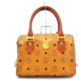 MCM-MCM Handbag-Brown