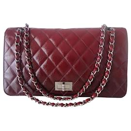 Chanel-Chanel Bag 2.55 tie and dye-Dark red