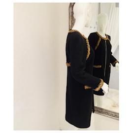 Chanel-Jackets-Black