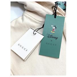Gucci-Stagiaire sweat à capuche Disney x Gucci taille M.-Rose,Blanc cassé