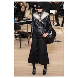 Chanel-15K$ Runway jacket-Navy blue