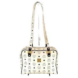 MCM-MCM Shoulder Bag-White