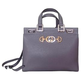 Gucci-GUCCI Zumi bag-Grey