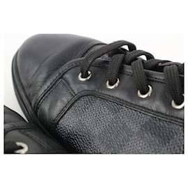 Louis Vuitton-Men's US 12 Damier Graphite Punchy Sneaker-Other