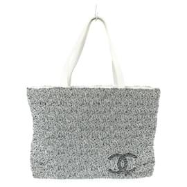 Chanel-Chanel tote bag-Grey