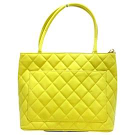 Chanel-Chanel tote bag-Yellow