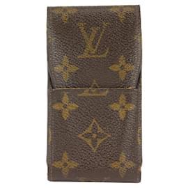 Louis Vuitton-Monogram Cigarette Case Mobile Phone Pouch Etui-Other