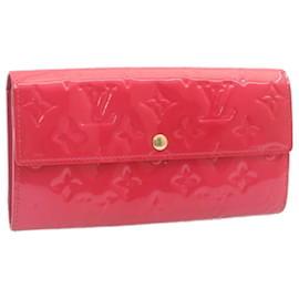 Louis Vuitton-Louis Vuitton Portefeuille Long-Red