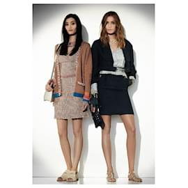 Chanel-NEW tweed dress-Multiple colors