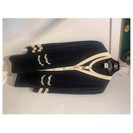 Chanel-Knitwear-Black,Beige