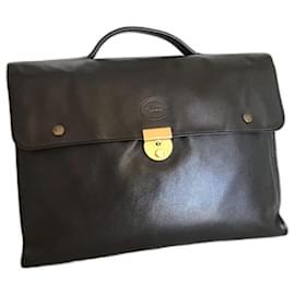 Longchamp-Saddlebags-Black
