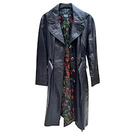 Dolce & Gabbana-Coats, Outerwear-Black