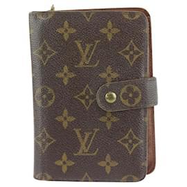 Louis Vuitton-Monogram Zip Compact Wallet Paper-Other