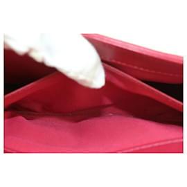 Chanel-Dark Pink Fuschia Chevron Quilted Lambskin Medium Boy Bag Gold-Other