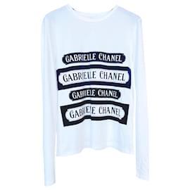 Chanel-Coco Gabrielle Top-White