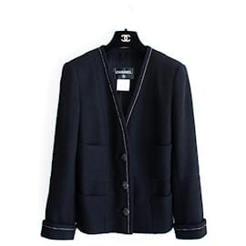 Chanel-6,5K$ Coco Brasserie Jacket-Black