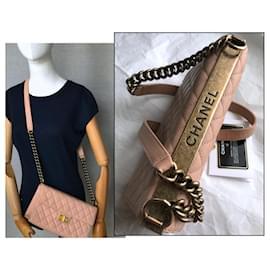 Chanel-Chanel Crossbody Medium Flap Bag-Pink