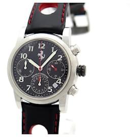 Girard Perregaux-GIRARD PERREGAUX WATCH FOR FERRARI 8020 automatic 36 MM CHRONOGRAPH WATCH-Black