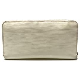 Louis Vuitton-Louis Vuitton Zippy Wallet-Cream