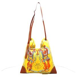 Hermès-Hermès Silk City-Jaune