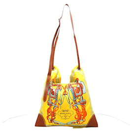 Hermès-Hermès Silk City-Yellow