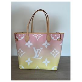 Louis Vuitton-NEVERFULL MM-Pink,Yellow