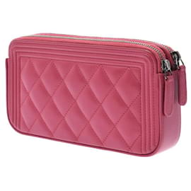 Chanel-Chanel clutch bag-Pink