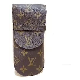 Louis Vuitton-Louis Vuitton Etui à lunettes-Brown