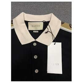 Gucci-Gucci polo shirt-Black