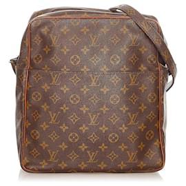 Louis Vuitton-Louis Vuitton Brown Monogram Marceau GM-Brown