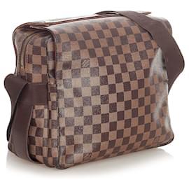 Louis Vuitton-Louis Vuitton Brown Damier Ebene Naviglio-Brown